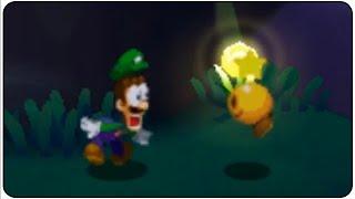 getlinkyoutube.com-Mario & Luigi Paper Jam Walkthrough Part 40 Luigi alone in the Deep Forest