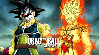 getlinkyoutube.com-Time Breaker Golden Bardock VS Kurama Chakra Goku | Dragon Ball Xenoverse MODS (Duels)