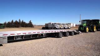 getlinkyoutube.com-Custom Harvester Drop Deck Implement Trailer by Wilson Trailer