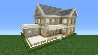getlinkyoutube.com-Minecraft Tutorial: How To Make A Suburban House - 2