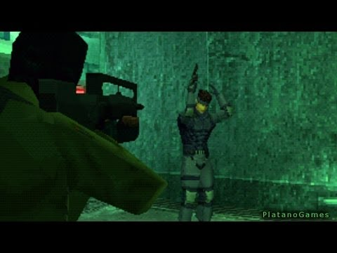 Metal Gear Solid - Wolf Battle Aftermath - Shadow Moses - HD