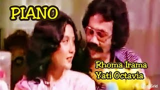 Piano - Rhoma Irama ft. Yati Octavia - Original Video Clip film