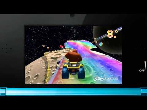 Mario Kart 7 - Rainbow Road (3DS)