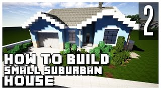 getlinkyoutube.com-How to Build a Suburban House in Minecraft - Part 2 + Download