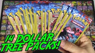 getlinkyoutube.com-Pokemon Cards- Opening 14 XY Base Set Dollar Tree Packs!