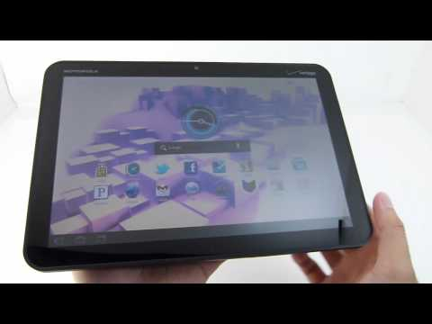 Motorola XOOM Hands-on -otWyNeucKbw