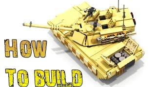 getlinkyoutube.com-How To Build - M1 ABRAMS Tank
