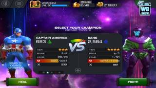 getlinkyoutube.com-Marvel: Contest of Champions - Act 2 Chapter 4 - Kang Stage [END]