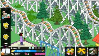 getlinkyoutube.com-The Simpsons Tapped Out HD The Tooth Chipper Krustyland + Thanksgiving All Finished Episode 61
