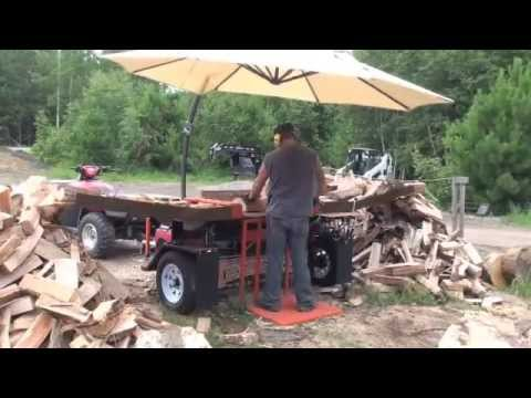 Tempest Wood Splitter: Dad's New Wood Splitter