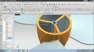 unigraphics nx 8 how to design propeller fan