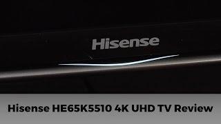 getlinkyoutube.com-Hisense HE65K5510 4K UHD TV Review