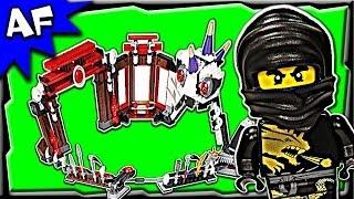 Lego Ninjago BATTLE ARENA 2520 Stop Motion Set Review