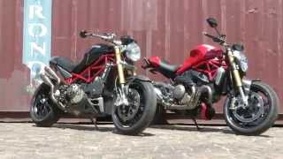 Ducati Monsters Old and New