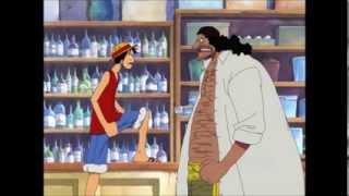 getlinkyoutube.com-One Piece lustige Szene - Ruffy und Blackbeard