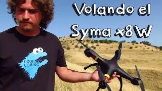 getlinkyoutube.com-VUELO SYMA X8W WIFI EN ESPAÑOL: Review en español de drones baratos calidad precio