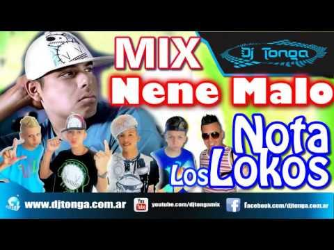 Cumbia Remix Mix NENE MALO VS LOS NOTA LOKOS 2013