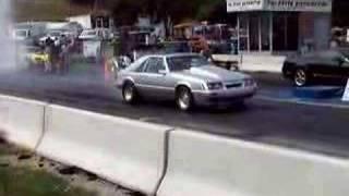 getlinkyoutube.com-Pecks Turbo Mustang  FIRST 9sec pass