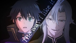 Ferid/Yuu - The way I like it [Owari no Seraph]