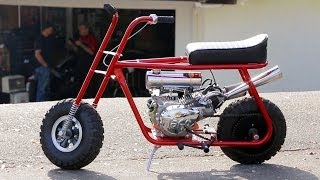 Mini Bike Mayhem! Taco Mini Bikes Custom HOT ROD Bike!  HOT ROD Unlimited Ep. 46