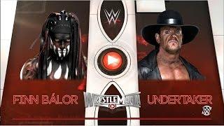 WWE 2K16: Finn Balor vs Undertaker