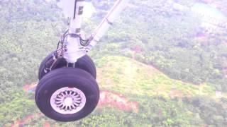 getlinkyoutube.com-Landing at Mangalore Airport