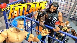 getlinkyoutube.com-GTS WRESTLING: FatLame PPV! WWE Mattel Elite Wrestling Figures Fastlane Event Animation!