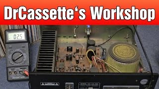 getlinkyoutube.com-DrCassette's Workshop - Checking out a Power Amp
