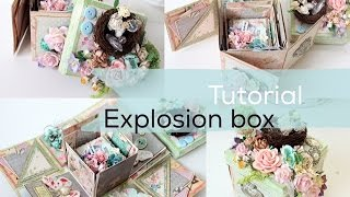 getlinkyoutube.com-Super Easy Tutorial Explosion Box | Start to Finish | How to | Instructions