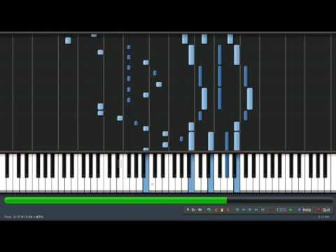 [Synthesia] Skyrim Main Theme ''Dragonborn'' (UKpiano Piano Transcription)