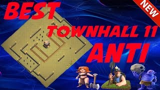 getlinkyoutube.com-Clash Of Clans - BEST NEW Town Hall 11 TROPHY/WAR BASE - Anti EVERYTHING