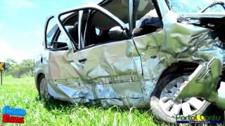 Grave acidente deixa 6 feridos na BR 277 em Guaraniaçu, Pr.