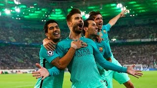 Borussia Mönchengladbach vs Barcelona 1 2 All Goals & Highlights   Champions League
