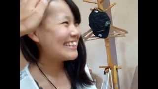 getlinkyoutube.com-刈り上げ女子校生とアラサー女性ツーブロック レザーアートHairTattoo 新小岩