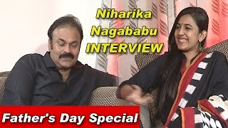 getlinkyoutube.com-Niharika & Naga Babu Exclusive Interview | Father's Day Special | TV5 News