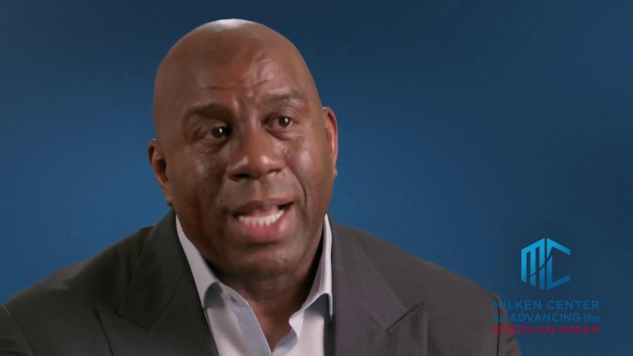 Magic Johnson: Legendary NBA Player Dedicated to Reforming Urban America