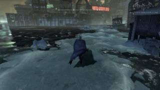 getlinkyoutube.com-Batman: Arkham City - Easter Egg #16 - The Ice Trail