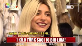 1 kilo Türk saçı 10 bin lira!