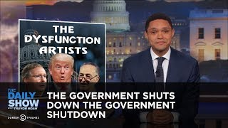 The Government Shuts Down the Government Shutdown: The Daily Show