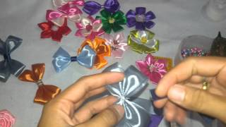 getlinkyoutube.com-Membuat Souvenir sendiri dari pita satin 1 inch