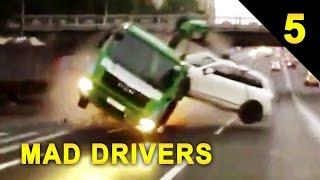 getlinkyoutube.com-MAD DRIVERS Worldwide #5 - 50 INTENSE Car Crashes! HD Compilation