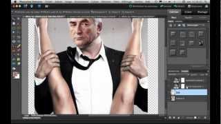 getlinkyoutube.com-Mettre son visage sur une autre photo avec Photoshop Elements