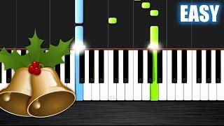 getlinkyoutube.com-Jingle Bells - EASY Piano Tutorial by PlutaX - Synthesia