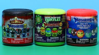 getlinkyoutube.com-Marvel, Power Rangers, Teenage Mutant Ninja Turtles Mash'ems