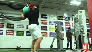 JJ Watt's Entire Workout in Two Minutes