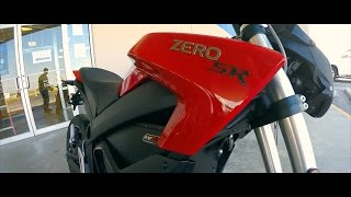 getlinkyoutube.com-2016 Zero SR | First Time Riding | Electric Motorcycle Full Review