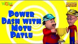 getlinkyoutube.com-Power Dash - Motu Patlu Compilation