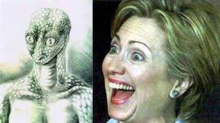 getlinkyoutube.com-Proof Hillary Clinton Is A Humanoid Reptilian Shapeshifter