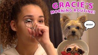 getlinkyoutube.com-Gracie's Morning Routine (Weekend Edition!)