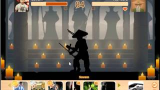 getlinkyoutube.com-Shadow Fight 1  - 3 Boss in a Row